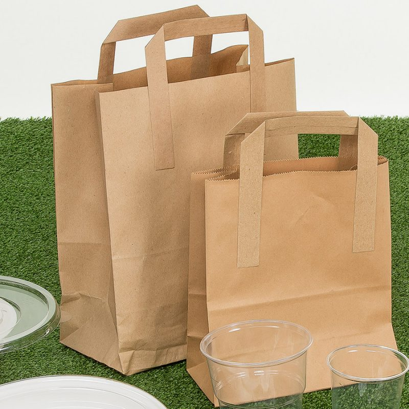 Brown Carrier Bags With Handles