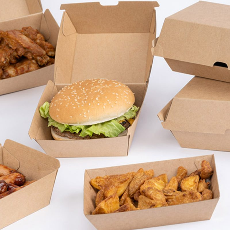 Corrugated Meal Boxes
