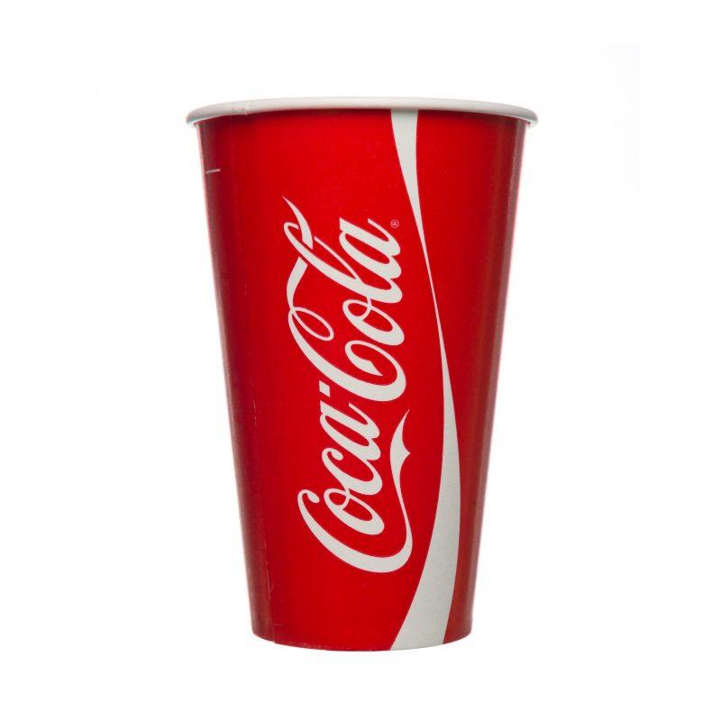 Coca Cola Paper Cups