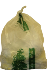 Clear Eco Refuse Sacks