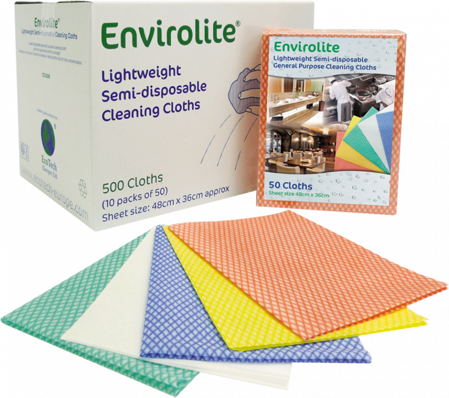 Enviro Lite Cleaning Cloths