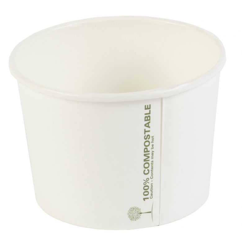 Compostable Soup Containers & Lids