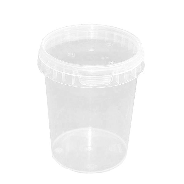 Tamper Proof Containers & Lids