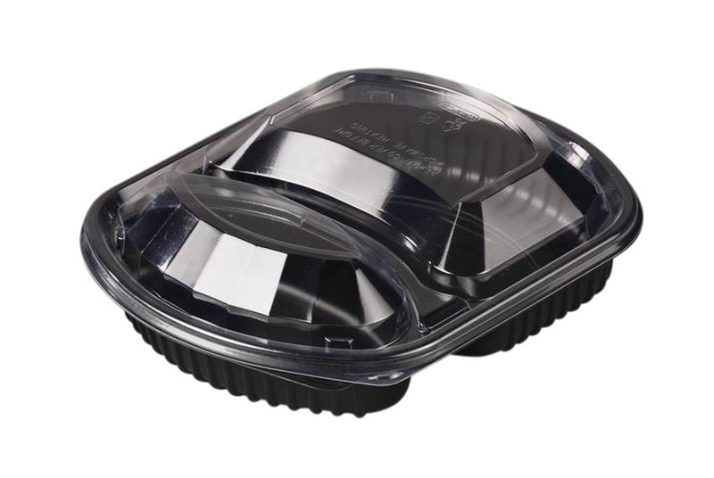 Black Microwavable Containers & Lids