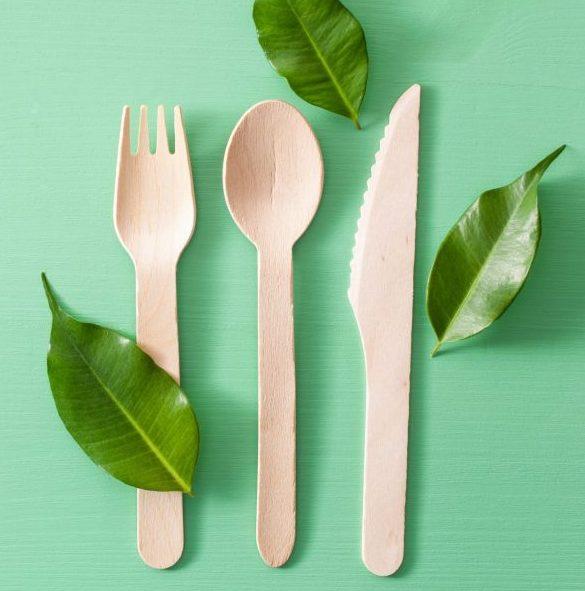 Eco-Friendly Wooden Cutlery