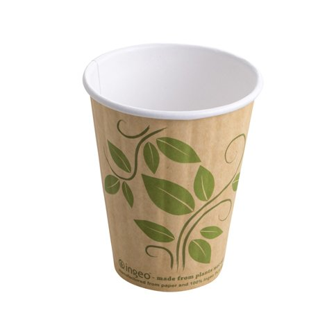 Compostable Double Wall Hot Cup