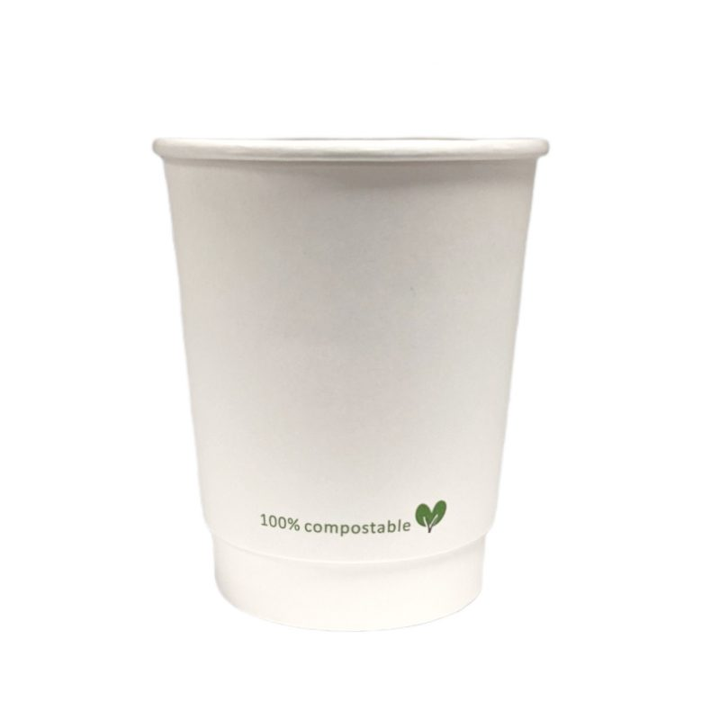 Greenheart Double Wall Compostable Hot Cups