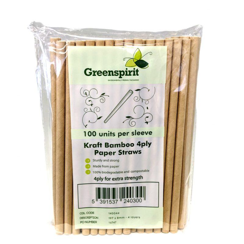 4ply Paper Straws