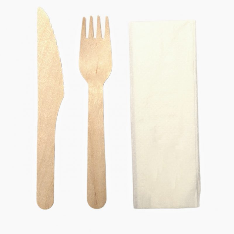 Eco-Friendly Wooden Cutlery Sets