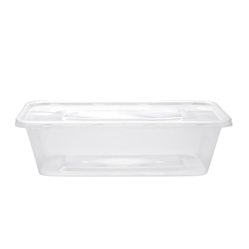 Clear Microwavable Containers & Lids