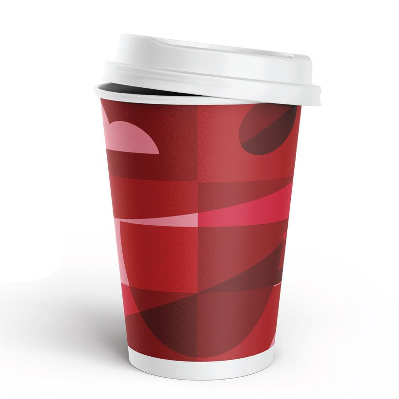 Sunrise Double Wall Hot Cups