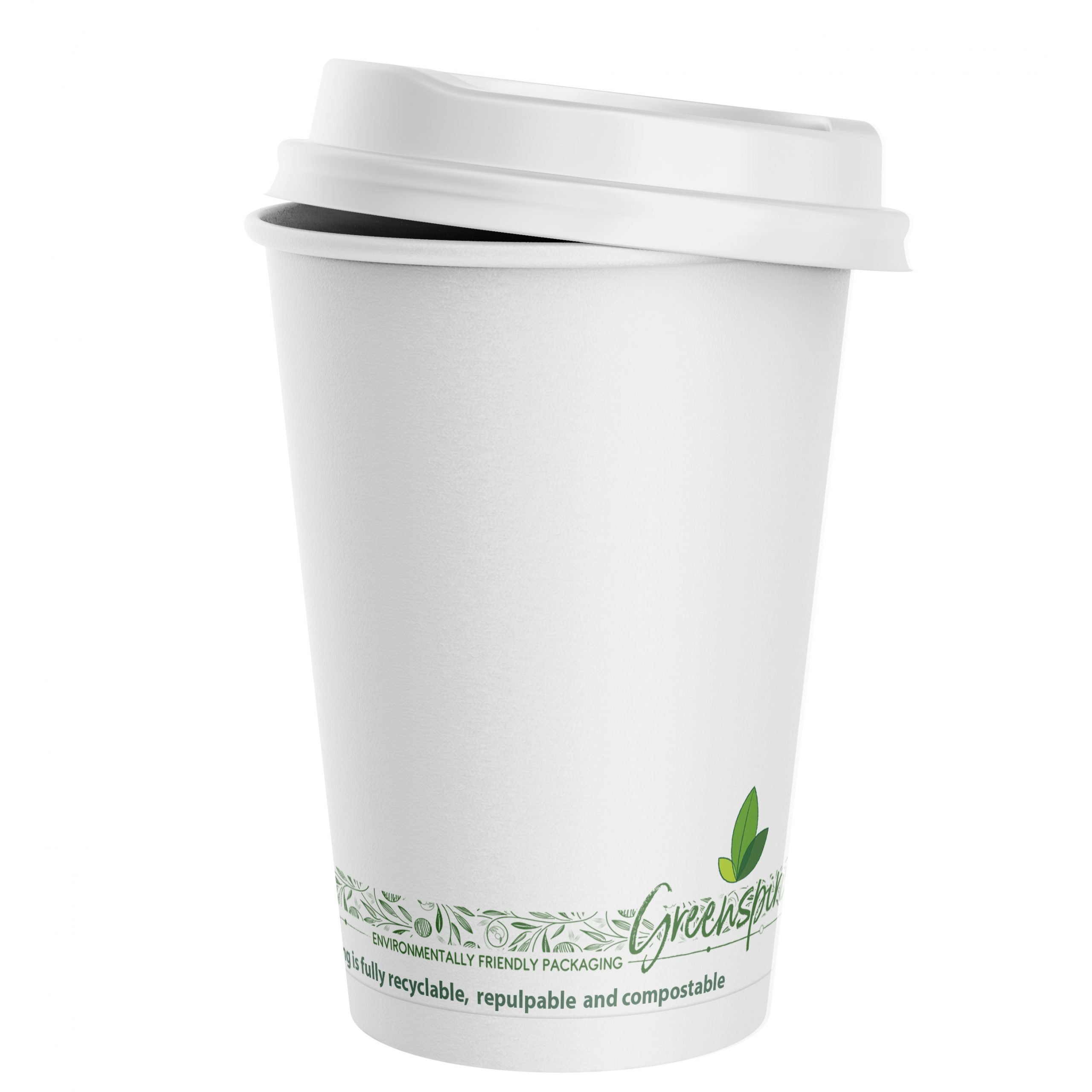 Greenspirit Plastic Free Double Wall Cups